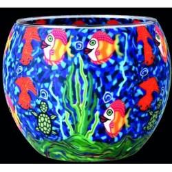 Leuchtglas Aquarium