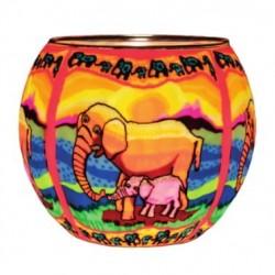 Leuchtglas Elefanten