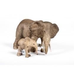 Afrikanische Elefantenfamilie
