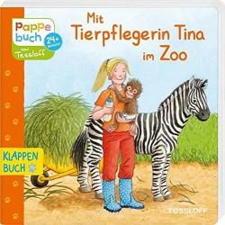 Mit Tierpflegerin Tina im...