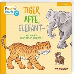 Tiger, Affe, Elefant - hast...