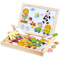 Holz-Puzzle-Box