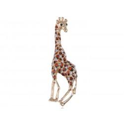 Brosche Giraffe