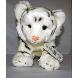 Plüsch-Tiger weiß